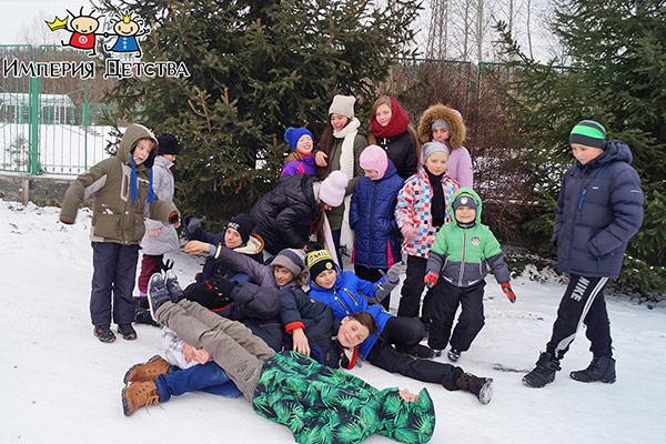 Зимние каникулы 2019 в детском лагере Империя Детства